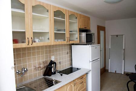 Ubytování jižní Morava - Vinný sklep s ubytováním - kuchyňka