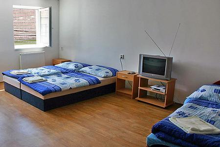 Ubytování jižní Morava - Vinný sklep s ubytováním - pokoj