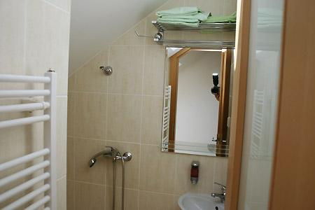 Ubytování jižní Morava - Vinný sklep s ubytováním - koupelna